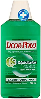 Licor del Polo - Enjuague Bucal Triple Acción - Antiplaca, Acción ...