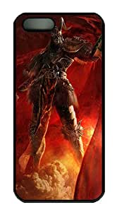 3D Angry Soldiers PC Case Cover for iPhone 5 and iPhone 5s ¨CBlack