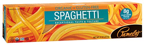 Pamela's Products Pasta,Og2,Spaghetti 8 Oz (Pack Of 12)