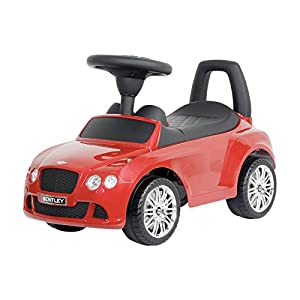 mercedes benz kids and boys ride on toy push car red