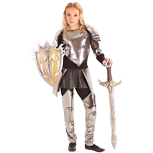 Warrior Snow Tween Costume-Small/Medium (6-8)
