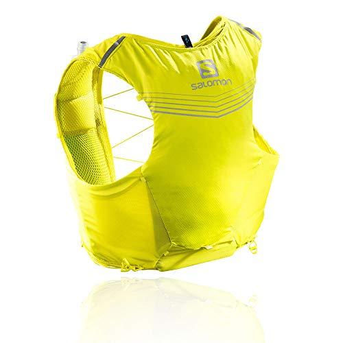 Salomon Mens Advanced Skin 5 Set Running Vest, Sulphur Spring/Citronelle, ()