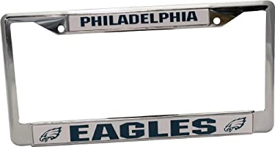 Philadelphia Eagles Chrome Frame