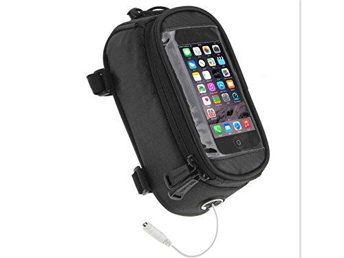 OVIIVO Bike Creative Waterproof Cycling Tube Pack Touchscreen Bike Frame Bags Bicycle Handlebars Panniers Phone Bag Pefect for Below 5.5 inch Smartphone by OVIIVO