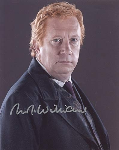 MARK WILLIAMS as Arthur Weasley – Harry Potter GENUINE AUTOGRAPH