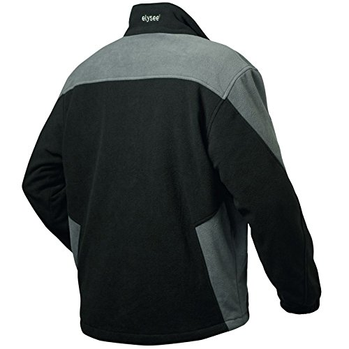"Elysee 23310–2x l tamaño 2X -LARGE ""Chelsea fleece-jacket–negro/gris"