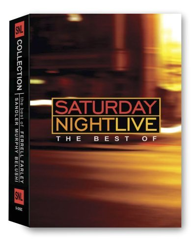 Saturday Night Live Collection: The Best of Ferrell / Farley/Sandler/Murphy/Belushi (Boxset) DVD New (Snl Best Of Chris Farley)
