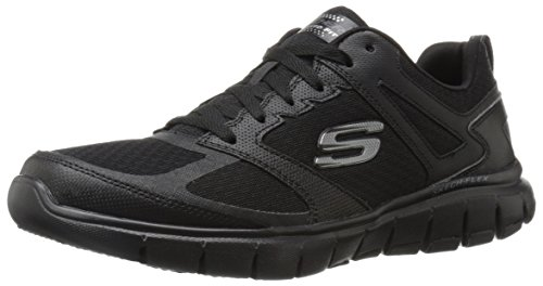 5 Alley Black US Men's Oxford Skechers Sport Power M 11 Flex II78qw