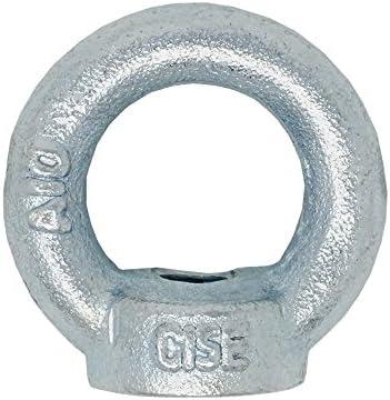 4 Ringmutter Ringmuttern Zurröse M8 DIN 582 C15 Verzinkt MCPL6314