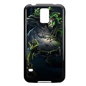 Urgot-001 League of Legends LoL case cover Samsung Galaxy Note4 - Plastic Black
