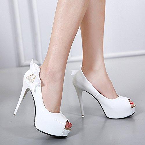 belle white corrisponde tacchi spillo 36 tutto a con scarpe signore le adulto signore Thirty KPHY nine cerimonia Oq8wEWfO