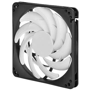 Silverstone Tek Professional Slim 120mm Fan with Fine-Tuned Performance and Low Noise Cooling FN123