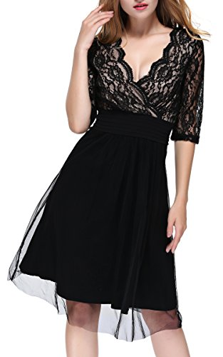 embroidered cross bodice dress - 5