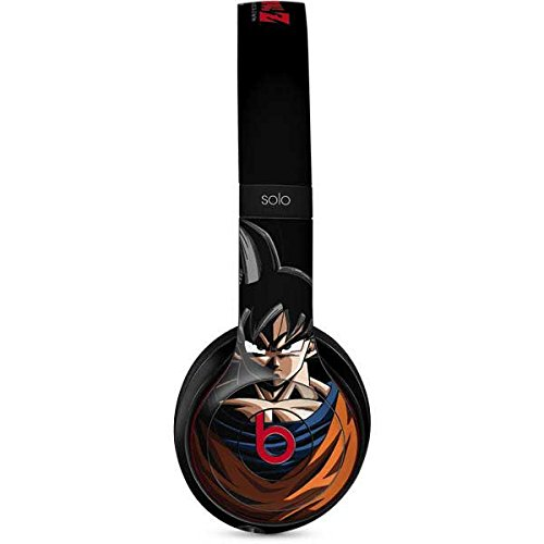 (Skinit Goku Portrait Beats Solo 2 Wireless Skin - Officially Licensed Dragon Ball Z Audio Decal - Ultra Thin, Lightweight Vinyl Decal Protection)