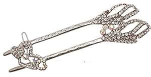 Traje de neopreno para mujer de accesorios de diseño de diamantes y - con bases carcasa rígida más pequeñas - diseño de transparente con brillantes de