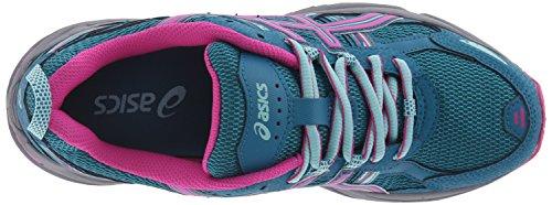ASICS Women's Gel-Venture 5 Trail Runner Ocean Depth/Pink Glow/Aruba Blue 6 M US by ASICS (Image #8)