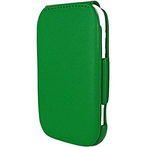 Piel Frama Wallet Case for Nokia Lumia 710 - Green
