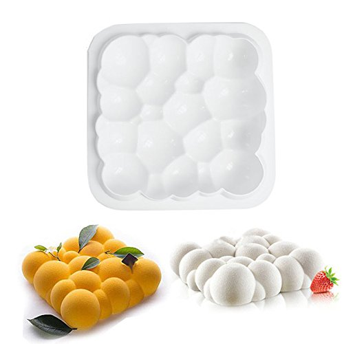 mojj Kitchen Accessories Silicone Cake Mold Cloud Shaped Silicone Baking Mold Kitchen Bakeware Supplies Kitchen Silicone (Bakeware Caddy)