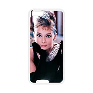 iPhone6 Plus 5.5 inch Phone Case White Audrey Hepburn UYUI6834515