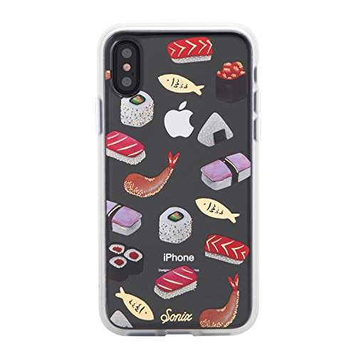 - Sonix Sushi Cell Phone Case, Military Drop Test Certified - Sonix Clear Coat Series for Apple iPhone X, iPhone Xs