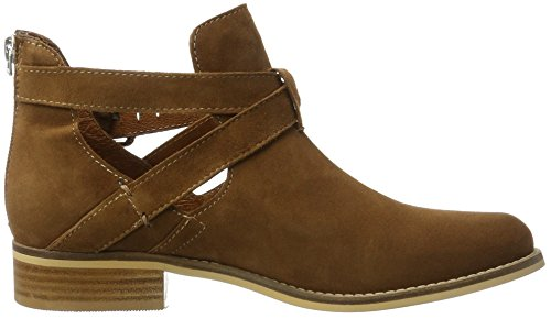 factory outlet purchase for sale Shoe Biz Women's Short Ankle Boots Brown (Cognac Suede) MAhPcpu
