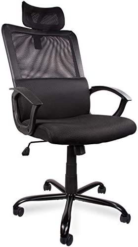 Ergonomic Adjustable Headrest Support Computer product image