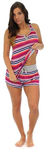 Pajama Heaven - Pijama - para mujer Color Stripe