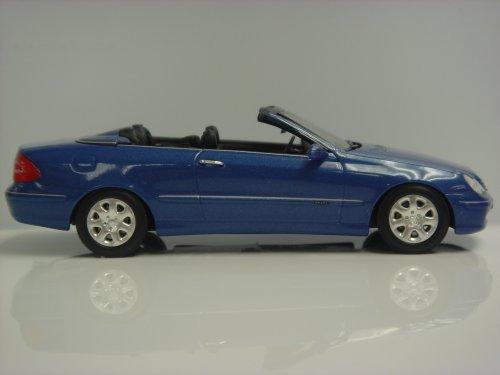 Mercedes-Benz CLK-Klasse Cabrio 2003 - jaspisblau-metallic - 1:43