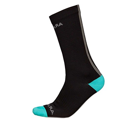 Cheap Endura Hummvee Waterproof Mid-Length Cycling Sock - Breathable Porelle Membrane