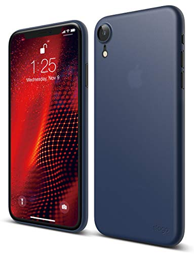 elago Inner Core Series iPhone XR case [Jean Indigo] - [Thinnest Lightest][Support Wireless Charging][Only Protects Against Scratches] Compatible iPhone XR (2018)