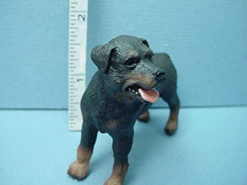 Miniature Rottweiler Dog #A0585 Falcon Miniatures