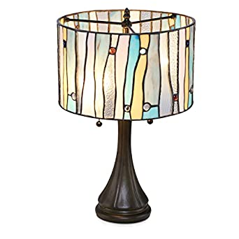 Serena D Italia Tiffany Style Table Lamps Contemporary Mosaic Stained Glass Lamp Antique