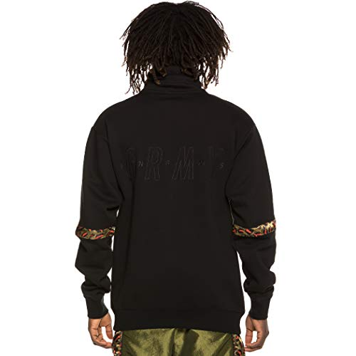 High Sudadera Ss19 Grimey Midnight Black Neck Sweatshirt UZqWExw6