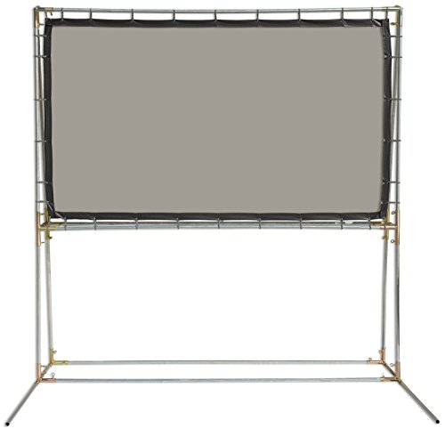 - Carl's Gray Rear Projection Screen Film (16:9   5x9-Ft   120-in) Standing Rear Projection Screen Kit, Translucent Grey PVC Rear Projection Film, DIY Rear Projection Projector Screen,Outdoor/Portable