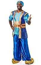 Rubies - Disfraz oficial de Aladdin de Disney Live Action para hombre