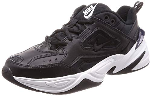 Nike Men's Shoes M2K TEKNO Casual Athletic Sneakers Black White AV4789 (9.5 D (M) US, Black/Black-Off White-Obsidian) from Nike