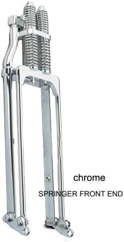 """2"""" Over Stock Chrome Springer Front End - Frontiercycle (Free U.S. Shipping)"""