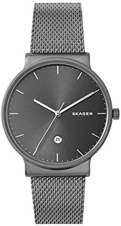 Skagen Reloj Analógico para Hombre de Cuarzo con Correa en Acero Inoxidable SKW6432