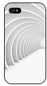 iPhone 5 / 5s 3D Corridor - black plastic case / Nature, Animals, Places Series