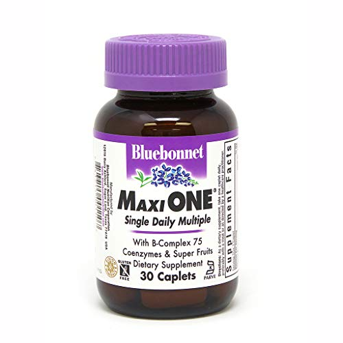 Bluebonnet Maxi One Iron Caplets, 30 Count