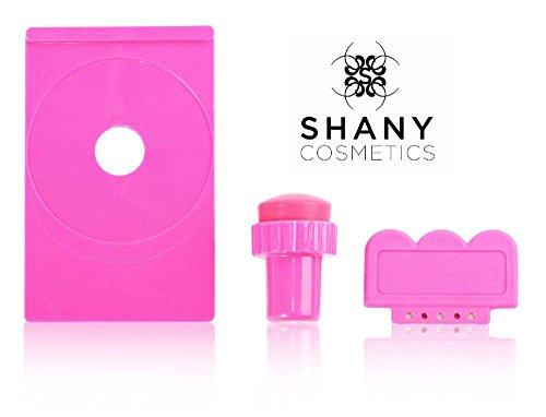 SHANY Stamping Nail Art Set (Nail Art Image Plate Holder, Scraper, Stamper)