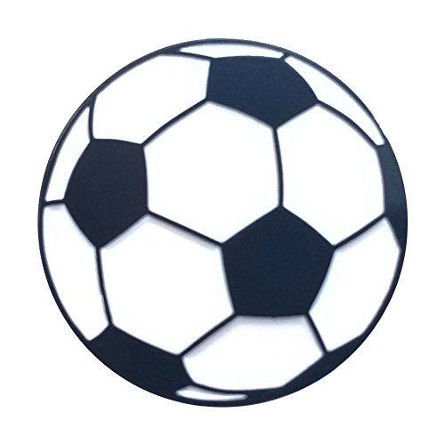 Soccer Ball - Lapel Jersey or Fabric Pin