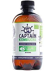 Captain Kombucha Coconut Summer Beach, Té de burbuja - 12 de 400 ml. (Total 4800 ml.)