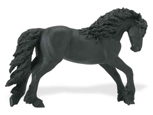 (Safari Ltd  Winner's Circle Horses: Friesian Stallion)