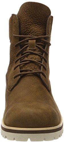 Timberland Buffed Barefoot Uomo Classici Stivali Marrone Chilmark Earth 218 Dark inch 6 THxwTZaqU