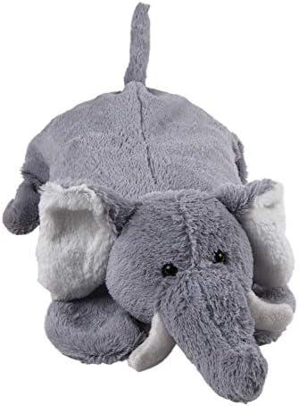 Wärmflasche mit Plüschbezug Elefant Taro