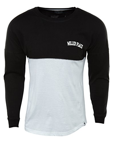 Populär Miller Place Mens Stil: Rn100289-blk / Wht Storlek Xs