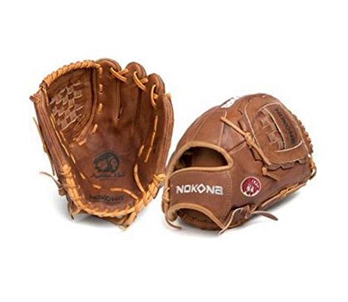 Infielders Glove Walnut Leather - Nokona Walnut Series 12