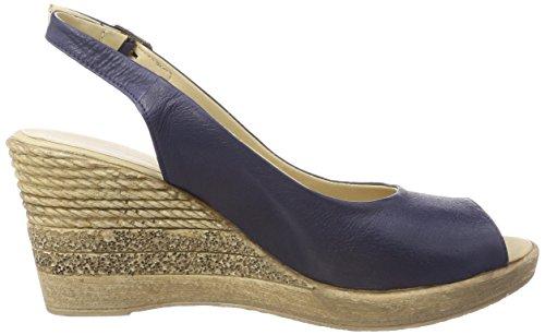 Sandals WoMen Andrea Blue 017 1675710 Dunkelblau Heels Conti vBErwExqcI