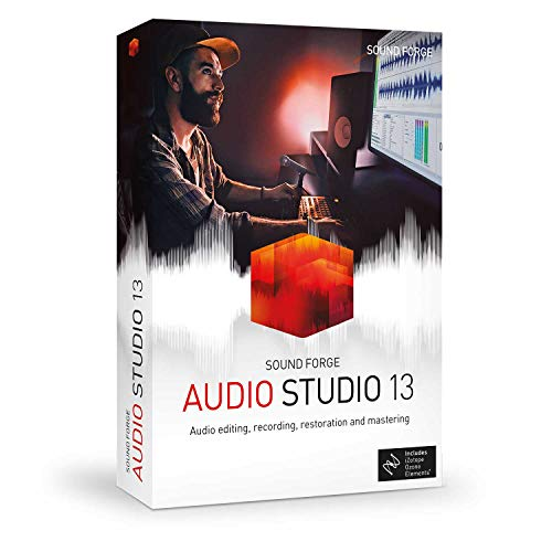 Sound Forge Audio Studio – Version 13 – Audio Editing, Recording, Restoration and Mastering in One